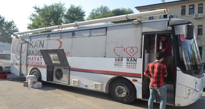 Iğdırda kan bağışı kampanyası
