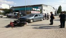 Sandıklıda trafik kazası: 1 yaralı