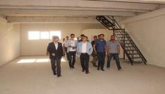 Vali Elban yeni hal binasını ziyaret etti