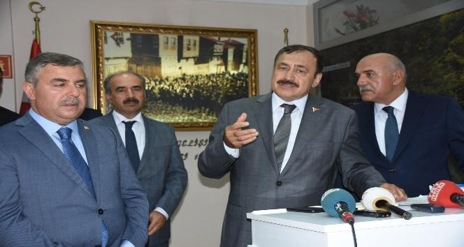 """Bakan Eroğlu: """"Kestane balı üretiminde Sinop'u şaha kaldıracağız"""""""