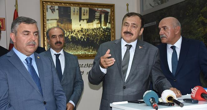 Bakan Eroğlu: 'Kestane balı üretiminde Sinop'u şaha kaldıracağız'