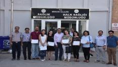 Mardinde dereceye giren ASM çalışanları ödüllerini aldı