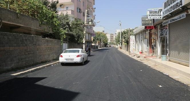 Nurullah Caddesindeki asfaltlama çalışmaları tamamlandı