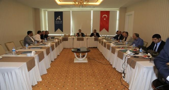 AHİKA Yönetim Kurulu Toplantısı Aksarayda Yapıldı