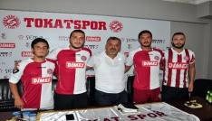 Tokatspor 8 futbolcu ile sözleşmeye imzaladı
