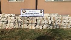 Yüksekovada 23 bin 500 paket kaçak sigara ele geçirildi