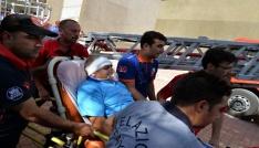 FÜ Hastanesinde yangın ve deprem tatbikatı