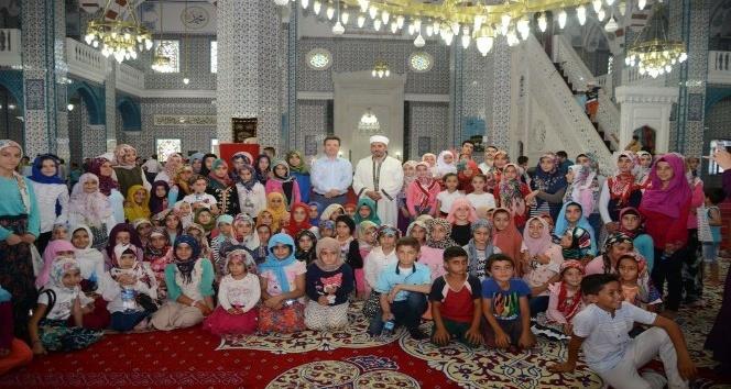Iğdırda Cami ve Çocuk Buluşması programı