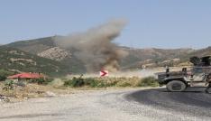 Teröristlerin tuzakladığı patlayıcı son anda fark edildi