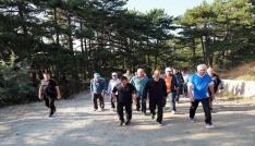 Yozgatta kamu çalışanları sağlıklı yaşam için yürüdü