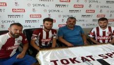 Tokatspor 3 futbolcu ile sözleşme imzaladı