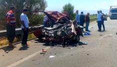 Erzincanda trafik kazası: 3 ölü