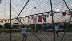 Kum voleybolu turnuvası başladı