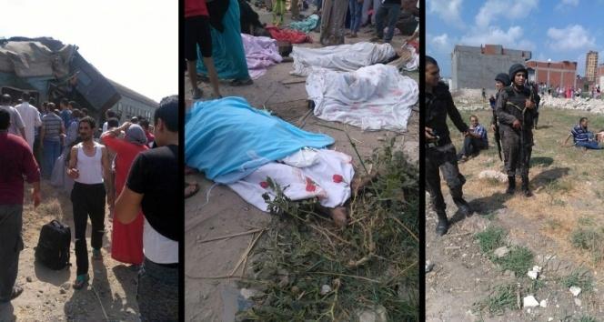 Mısır'da tren kazası: 21 ölü, 55 yaralı