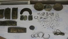 Ağrıda Urartular dönemine ait 205 adet tarihi eser ele geçirildi