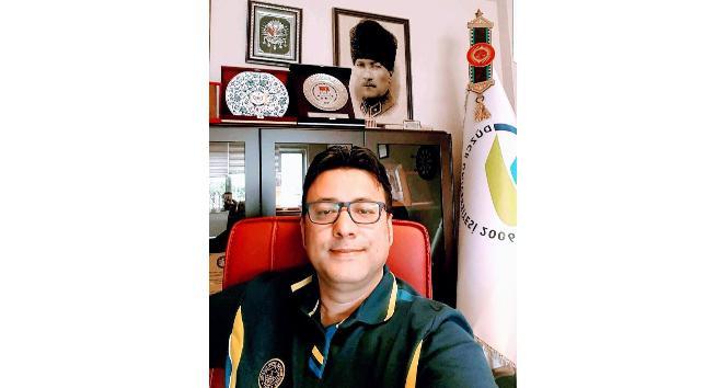 Prof. Dr. Karacabey Düzce'ye veda etti