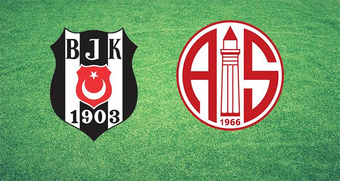 Beşiktaş ile Antalyaspor Süper Ligde 43. randevuda