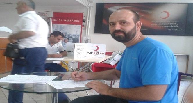 Bursalı dağcılardan kan bağışına destek