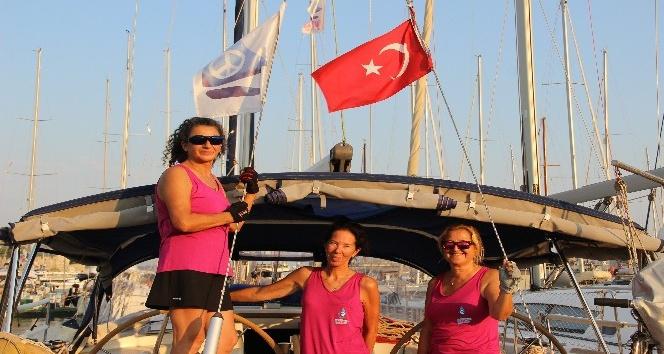 3 Türk kadın denizci, 3 deniz dolaştı