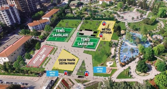 Ümraniye-Ataşehir-Göztepe metro istasyon çalışmaları başladı
