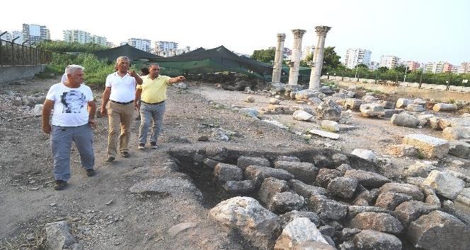 Mezitli Belediyesi Soli Pompeiopolis'i arkeopark yapmak için harekete geçti