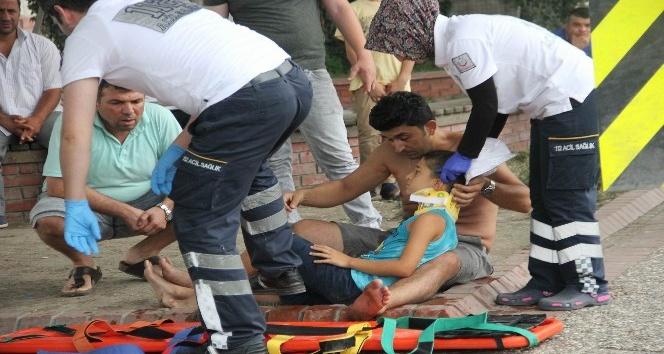 Samsun'da iki otomobil çarpıştı: 3 yaralı