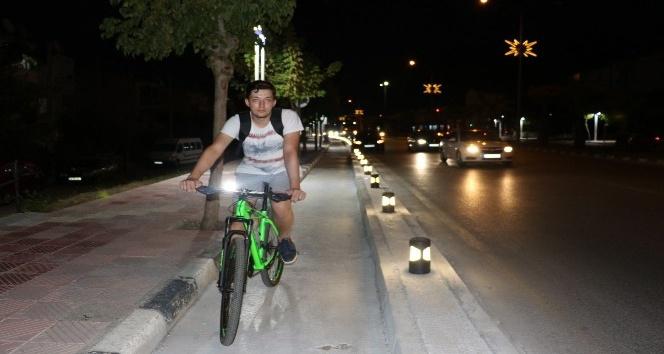 Manisa'daki bisiklet yolu şehri baştan başa dolaşacak