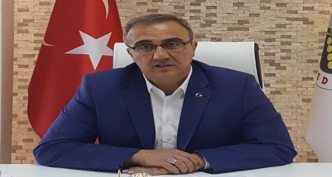 Başkan Karaçoban'dan şehitler için taziye