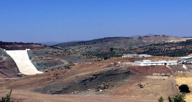 Musabeyli Barajı yıl sonunda devreye girecek
