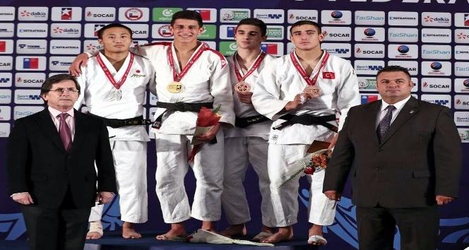 Ümitler Dünya Judo Şampiyonası'nda Mustafa Koç, bronz madalya kazandı