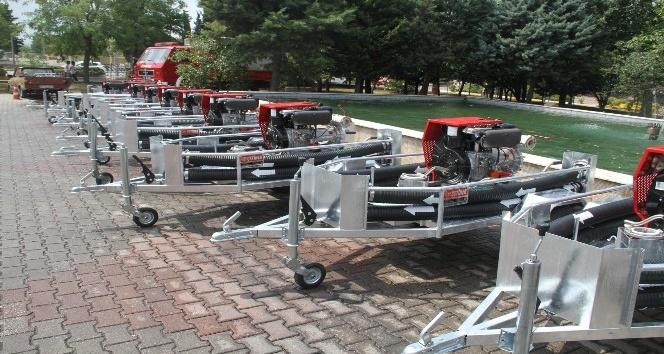 Büyükşehir iftaiyesi 20 adet su tankeri aldı