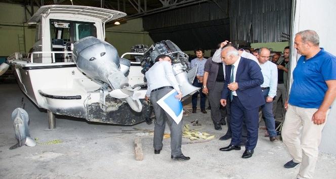 Vali Zorluoğlu İŞGEM'i ziyaret etti