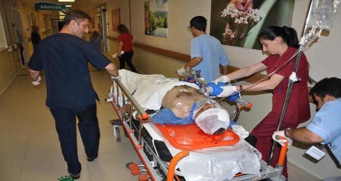 Fabrika bekçisine çarpan motosiklet sürücüsü hayatını kaybetti