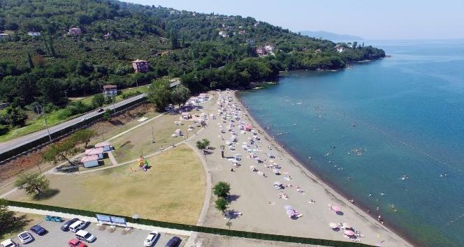 Kadınlar plajına rekor ilgi