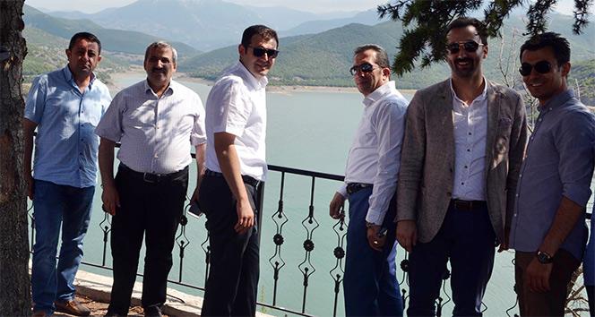 Almus Barajında kano yarışmaları yapılacak