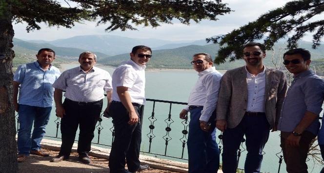 Almus Barajı'nda kano yarışmaları yapılacak