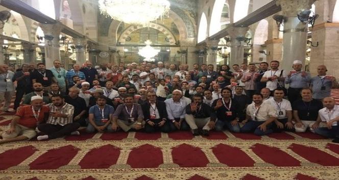 Müstakil Sanayici ve İş Adamları Derneği Filistin'de