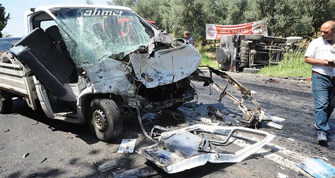 Bursada feci kaza: 2si ağır 6 yaralı
