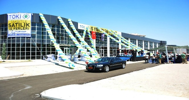 TOKİ, Uşak'ta 397 dükkanı açık artırma ile satıyor