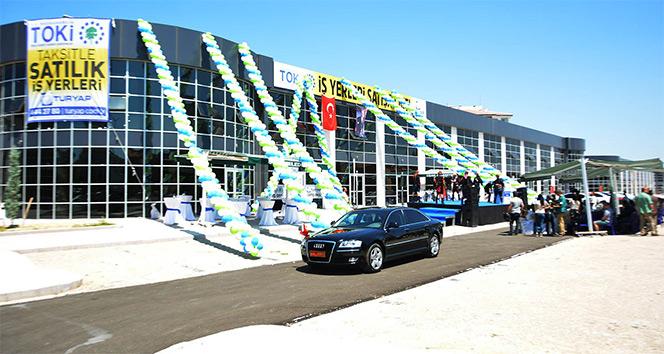 TOKİ, Uşakta 397 dükkanı açık artırma ile satıyor