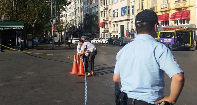 Taksim Meydanı'nda şüpheli paket alarmı