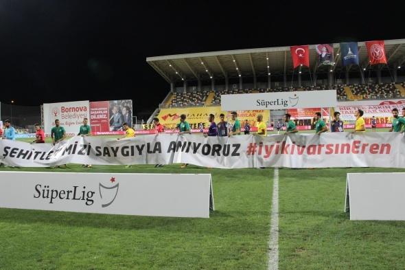 Göztepe Fenerbahçe maçından kareler
