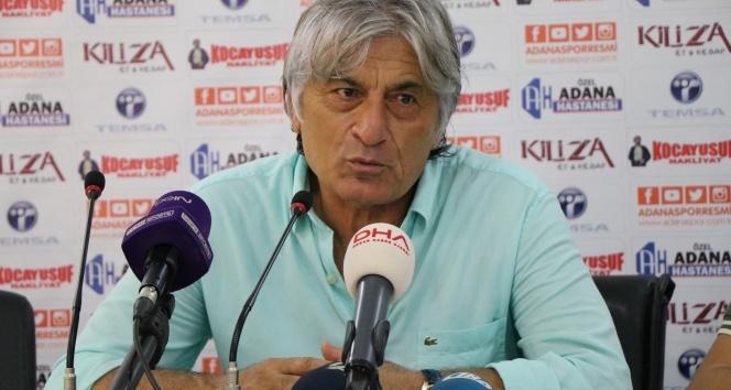 """Adanasporun Teknik Direktörü Kemal Kılıç: """"Kazanmak çok önemliydi"""""""