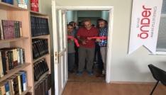 Hakkaride Kitap Kafe Gençlik Merkezi açıldı