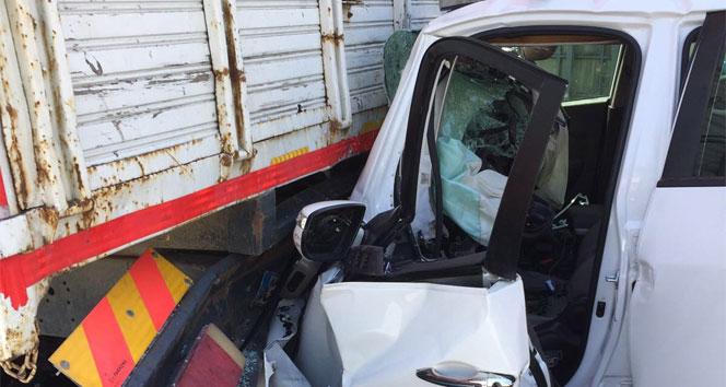 Büyükçekmece ve Esenyurtta iki sıkışmalı kaza: 1 ölü, 1 yaralı