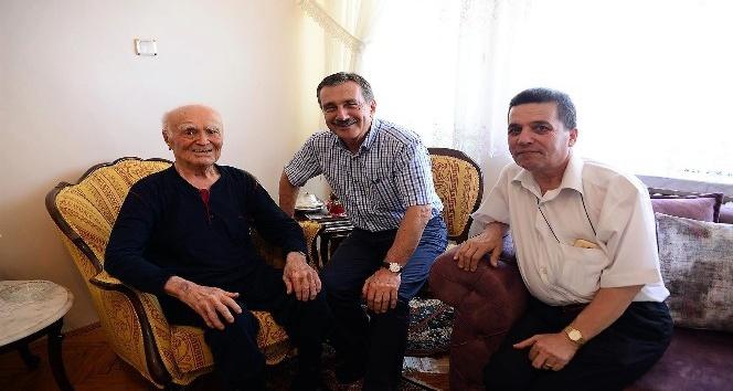 Başkan Ataç'tan İsmail Özen'e ziyaret