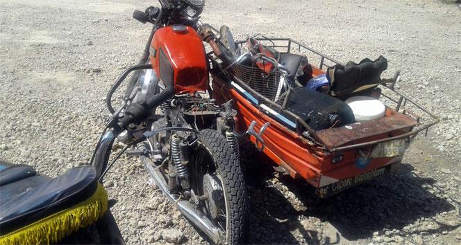 Beton mikseri ile motosiklet çarpıştı: 1 ölü, 1 yaralı