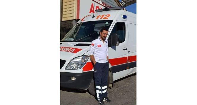 Ambulans şoförü olan eşini başından vurarak öldürdü