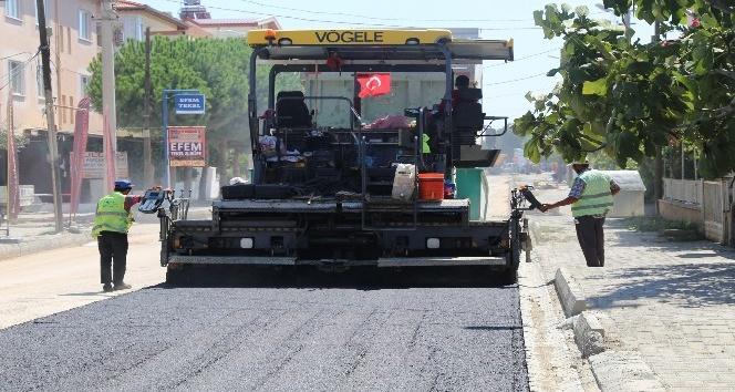 Burhaniye'de asfaltsız yol kalmayacak