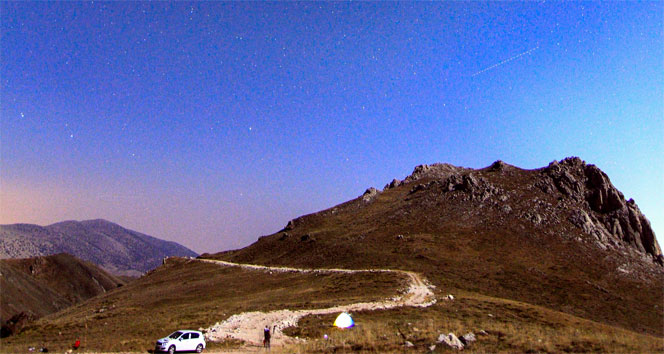 2 bin 400 metrede gökyüzü şöleni
